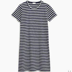 NWT J. Crew Short Sleeve T-shirt Dress